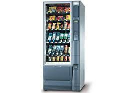 Aluguel máquina vending machine