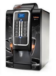 Máquina de café e cappuccino profissional